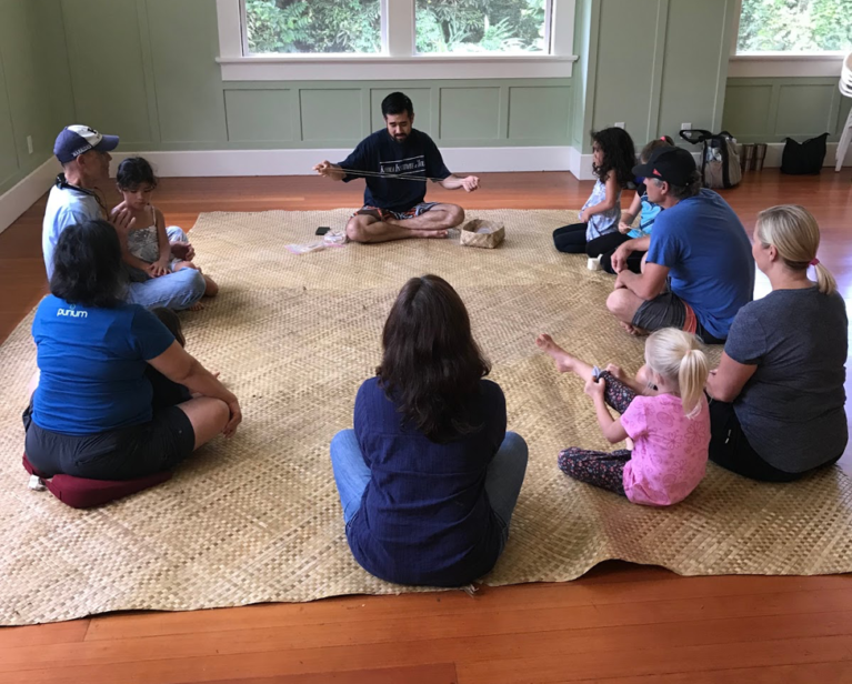 Ohana Activities at Kohala Institute